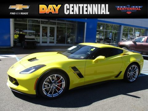Corvette Racing Yellow Tintcoat Chevrolet Corvette Grand Sport Coupe.  Click to enlarge.