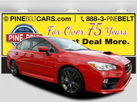 Pure Red Subaru WRX Premium.  Click to enlarge.