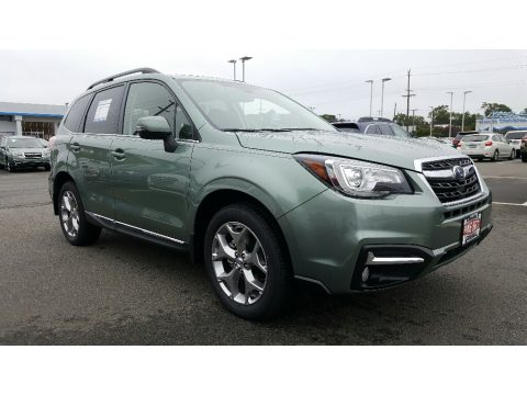 Jasmine Green Metallic Subaru Forester 2.5i Touring.  Click to enlarge.