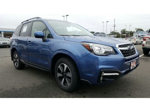 Quartz Blue Pearl Subaru Forester 2.5i Limited.  Click to enlarge.