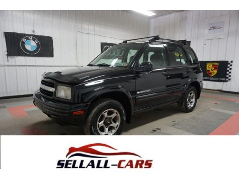 Black Chevrolet Tracker ZR2 Hardtop 4WD.  Click to enlarge.