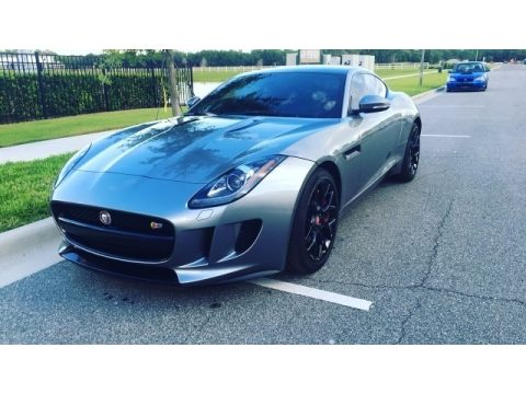Lunar Grey Metallic Jaguar F-TYPE S Coupe.  Click to enlarge.