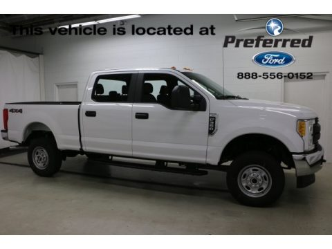 Oxford White Ford F350 Super Duty XLT Crew Cab 4x4.  Click to enlarge.