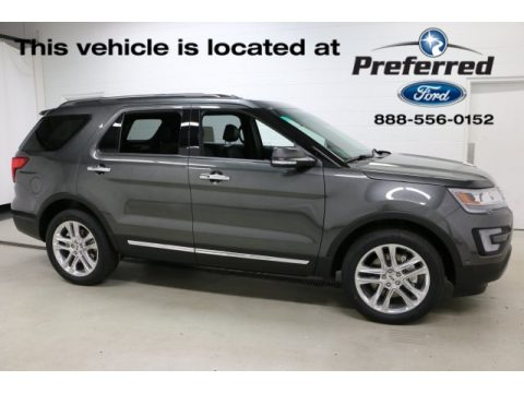 Magnetic Ford Explorer Limited 4WD.  Click to enlarge.