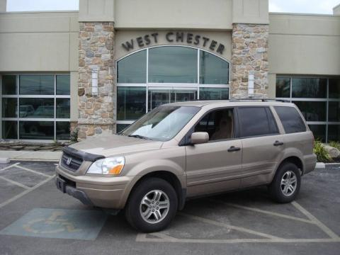 Sandstone Metallic Honda Pilot EX 4WD.  Click to enlarge.