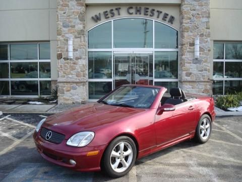 Firemist Metallic Mercedes-Benz SLK 320 Roadster.  Click to enlarge.