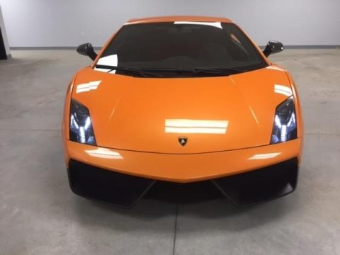 Arancio Borealis (Orange) Lamborghini Gallardo LP570 Superleggera.  Click to enlarge.