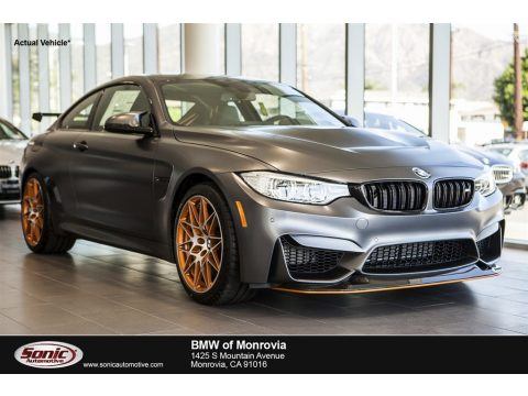 Frozen Dark Grey Metallic BMW M4 GTS Coupe.  Click to enlarge.
