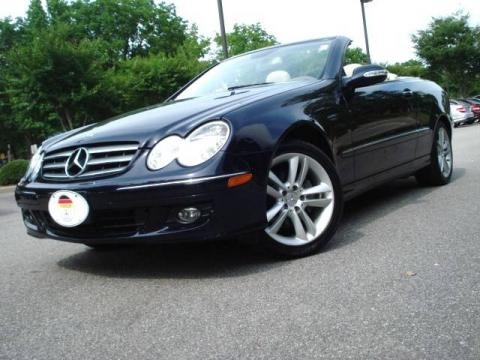 Used 2006 mercedes benz clk 350 cabriolet for sale stock Tysinger motor company