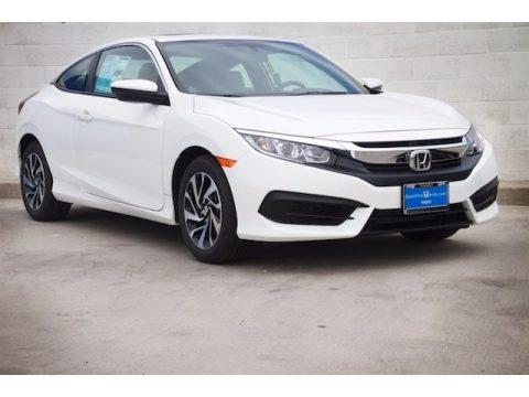 Taffeta White Honda Civic LX-P Coupe.  Click to enlarge.