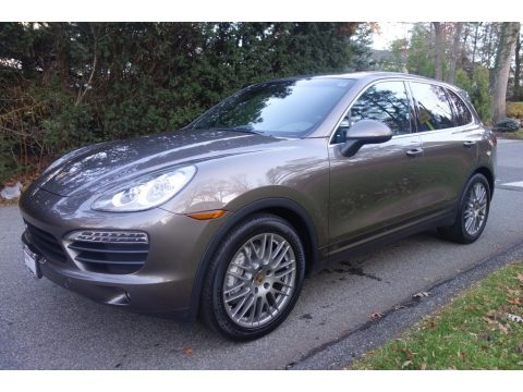 Umber Metallic Porsche Cayenne S.  Click to enlarge.