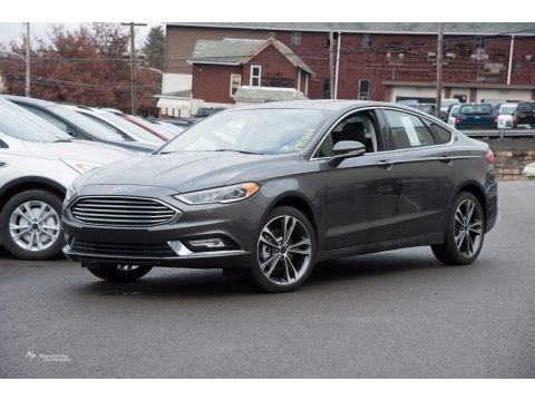 Magnetic Ford Fusion Titanium AWD.  Click to enlarge.