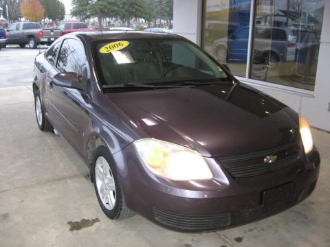 Majestic Amethyst Metallic Chevrolet Cobalt LT Coupe.  Click to enlarge.