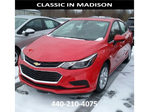 Red Hot Chevrolet Cruze LT.  Click to enlarge.