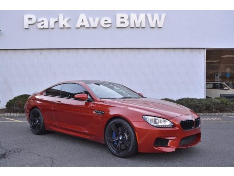 Sakhir Orange Metallic BMW M6 Coupe.  Click to enlarge.
