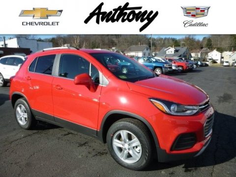 Red Hot Chevrolet Trax LT AWD.  Click to enlarge.
