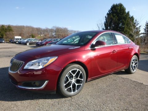 Crimson Red Tintcoat Buick Regal Sport Touring.  Click to enlarge.