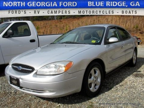 Silver Frost Metallic Ford Taurus SES.  Click to enlarge.