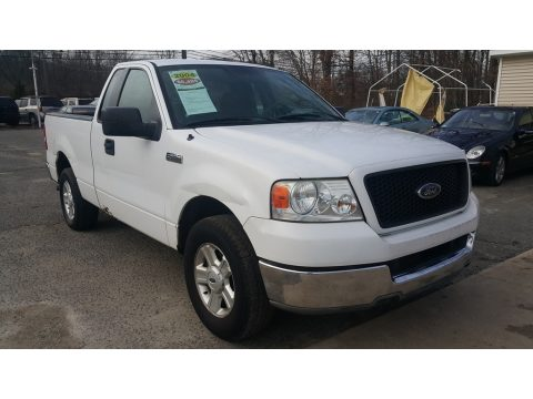 Oxford White Ford F150 XLT Regular Cab.  Click to enlarge.