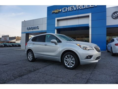 Galaxy Silver Metallic Buick Envision Essence.  Click to enlarge.