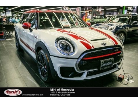 Pepper White Mini Clubman John Cooperworks ALL4.  Click to enlarge.