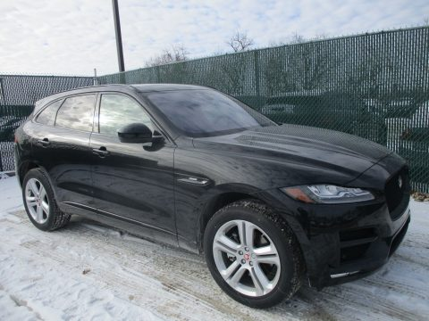 Ultimate Black Jaguar F-PACE 35t AWD R-Sport.  Click to enlarge.