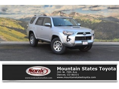 Classic Silver Metallic Toyota 4Runner Trail 4x4.  Click to enlarge.