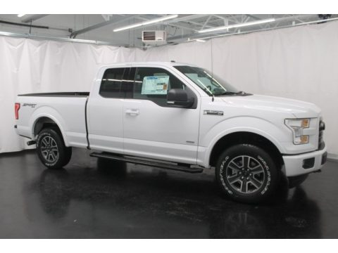 Oxford White Ford F150 XLT SuperCab 4x4.  Click to enlarge.