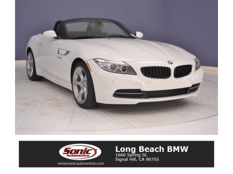 Alpine White BMW Z4 sDrive28i.  Click to enlarge.