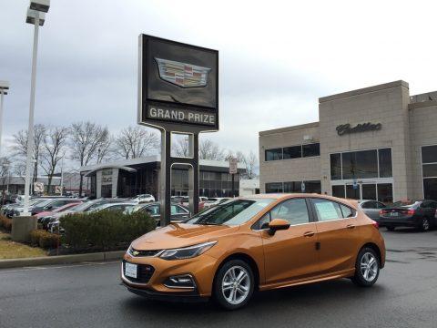 Orange Burst Metallic Chevrolet Cruze LT.  Click to enlarge.