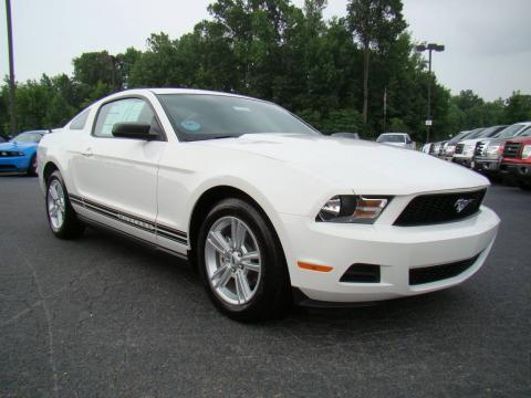 new 2010 ford mustang v6 coupe for sale stock f10021. Black Bedroom Furniture Sets. Home Design Ideas