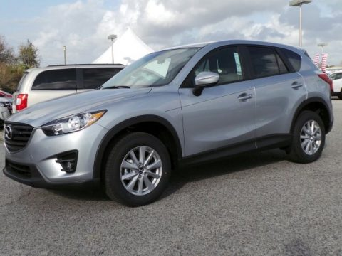 Sonic Silver Metallic Mazda CX-5 Touring.  Click to enlarge.