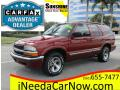 2000 Chevrolet Blazer LS Majestic Red Metallic