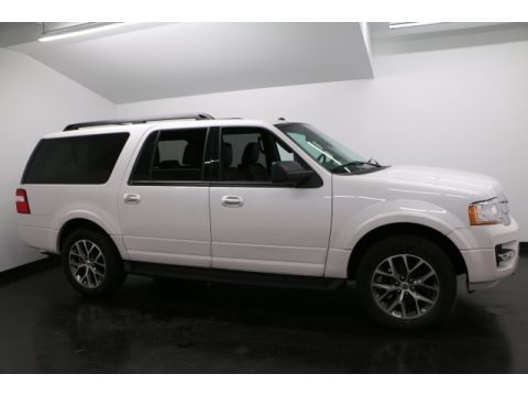 White Platinum Ford Expedition EL XLT 4x4.  Click to enlarge.