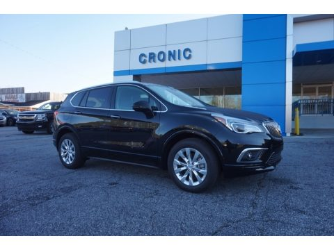 Ebony Twilight Metallic Buick Envision Essence.  Click to enlarge.