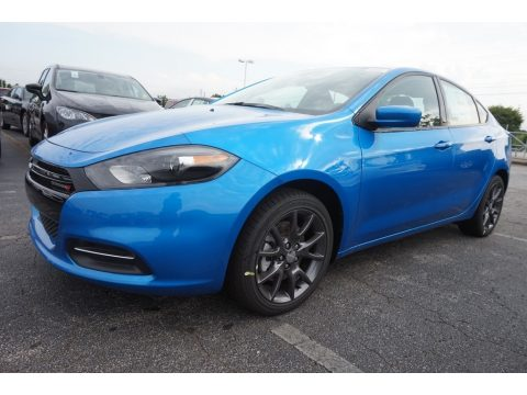 Laser Blue Pearl Dodge Dart SE.  Click to enlarge.