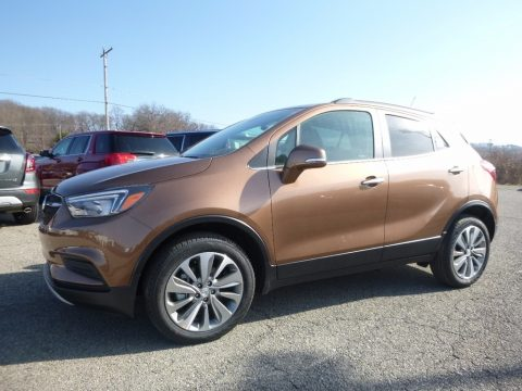 River Rock Metallic Buick Encore Preferred AWD.  Click to enlarge.