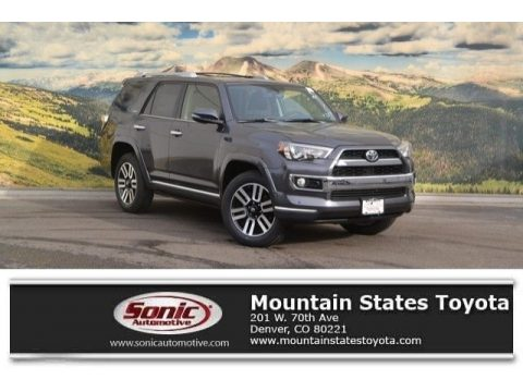 Magnetic Gray Metallic Toyota 4Runner Limited 4x4.  Click to enlarge.