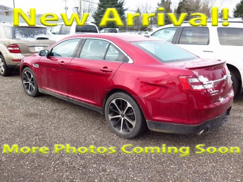 Ruby Red Metallic Ford Taurus SEL.  Click to enlarge.
