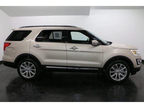 White Gold Ford Explorer Limited 4WD.  Click to enlarge.