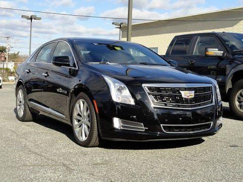 Stellar Black Metallic Cadillac XTS Luxury Sedan.  Click to enlarge.
