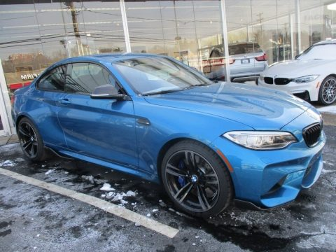 Long Beach Blue Metallic BMW M2 Coupe.  Click to enlarge.