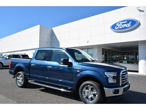 Blue Jeans Ford F150 XLT SuperCrew.  Click to enlarge.