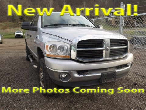 Bright Silver Metallic Dodge Ram 2500 SLT Quad Cab 4x4.  Click to enlarge.