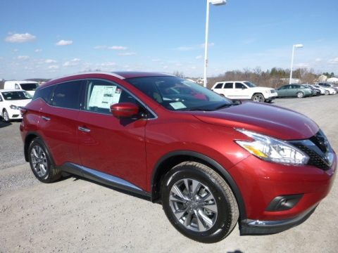Cayenne Red Nissan Murano SL AWD.  Click to enlarge.