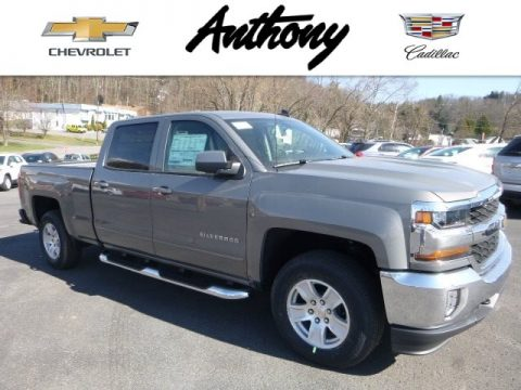 Pepperdust Metallic Chevrolet Silverado 1500 LT Crew Cab 4x4.  Click to enlarge.