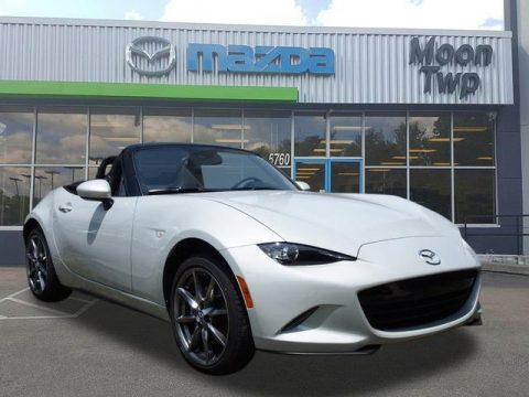 Ceramic Metallic Mazda MX-5 Miata Grand Touring Roadster.  Click to enlarge.