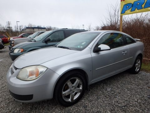 Ultra Silver Metallic Chevrolet Cobalt LT Coupe.  Click to enlarge.
