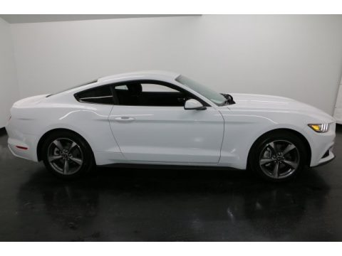 Oxford White Ford Mustang Ecoboost Coupe.  Click to enlarge.