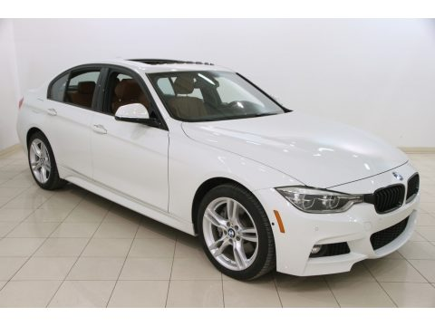 Alpine White BMW 3 Series 340i xDrive Sedan.  Click to enlarge.